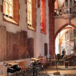 Rincón interior de la iglesia del Espíritu Santo de Heidelberg