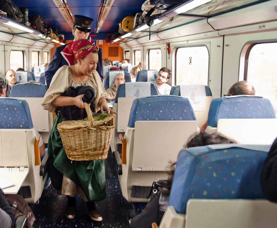 Tren turístico Campos de Castilla de Madrid a Soria