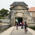 Entrada a la ciudadela de Saint Martin de Ré en la isla de Ré