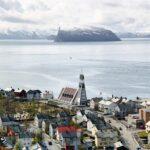 Hammerfest en el norte de Noruega