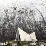 Catedral Artica en Tromso en el norte de Noruega