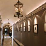 Galería Real del histórico Hotel Palacio en Estoril en los alrededores de Lisboa