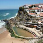 Azenhas de Mar en Costa Estoril en los alrededores de Lisboa