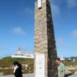 Cabo de Roca en Costa Estoril en los alrededores de Lisboa