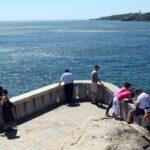 Mirador de la Boca del Infierno en Costa Estoril en los alrededores de Lisboa