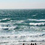 Playa de Guincho en Costa Estoril en los alrededores de Lisboa