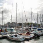 Veleros en el puerto de La Rochelle al oeste de Francia