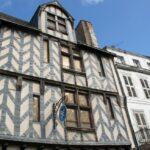 Edificio de La Rochelle al oeste de Francia