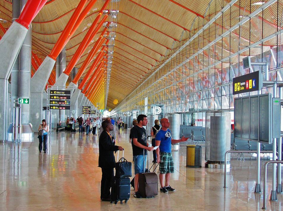 Terminal 4 del aeropuerto de Barajas en Madrid