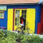 Tienda en casa de pescadores de Chateau d´Oléron en la isla de Oléron en Francia