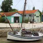 Puerto pesquero de Chateau d´Oléron en la isla de Oléron en Francia