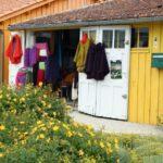 Tienda en antigua casa de pescadores de Chateau d´Oléron en la isla de Oléron en Francia