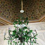 Lámpara en salón del palacio da Pena de Sintra