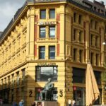 Edficio en el centro de Oslo en Noruega