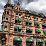 Edificio en el centro de Oslo en Noruega