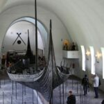 Museo de Barcos Vikingos en Oslo en Noruega