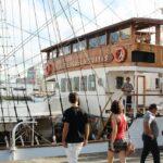 Barcos velero de Ecuador en la Tall Ships Race en A Coruña
