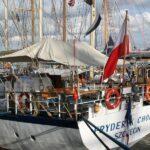 Barco velero polaco en la Tall Ships Race en A Coruña