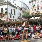 Espectáculos en el Mercado Medieval de Mondoñedo en Galicia