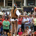 Ambiente del Mercado Medieval de Mondoñedo en Galicia