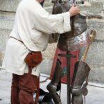 Ambiente en el Mercado Medieval de Mondoñedo en Galicia