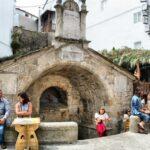 Fuente de Alvaro Cunqueiro en Mondoñedo en Galicia