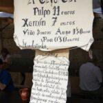 El pulpo, protagonista en el Mercado Medieval de Mondoñedo en Galicia