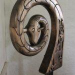 Objeto expuesto en el Museo de Barcos Vikingos de Oslo en Noruega
