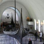 Barco de Oseberg en el Museo de Barcos Vikingos de Oslo