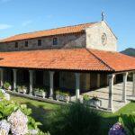 Capilla en el parador nacional de Bayona en Galicia