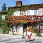 Edificio en Cambados en las Rías Bajas en Galicia