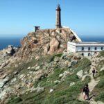 Faro de Vilán en la Costa da Morte en Galicia