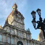 Ayuntamiento de A Coruña en la plaza de María Pita