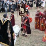 Personaje del general Agripa en las Guerras Cántabras en Los Corrales de Buelna