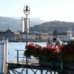 Lago de Lucerna en Suiza