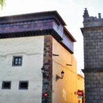 Monasterio de Santa Catalina en la plaza del Adelantado en el centro histórico de La Laguna
