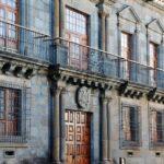 Palacio de Nava en la plaza del Adelantado en el centro histórico de La Laguna