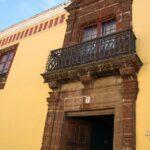 Casa de los Capitanes Generales en el centro histórico de La Laguna en Tenerife