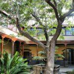 Típico patio canario en la Casa de los Capitanes Generales en La Laguna