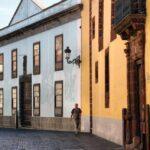 Rincón de la calle Obispo Redondo en el centro histórico de La Laguna