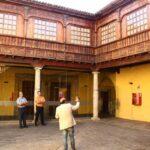 Patio del Palacio de Lercaro en el centro histórico de La Laguna