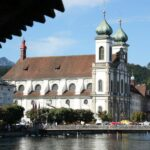 Iglesia Jesuita de Lucerna en Suiza