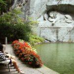 Monumento al León en Lucerna