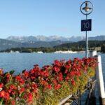 Embarcadero a orillas del lago Lucerna