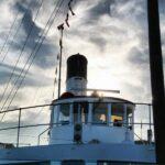 Barco de vapor para cruceros por el lago Lucerna