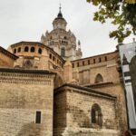 Fachada de la Catedral de Tarazona en Aragón
