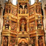 Retablo de la capilla mayor de la Catedral de Tarazona en Aragón