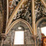 Decoración de la cabecera de la Catedral de Tarazona en Aragón