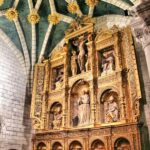 Retablo de una capilla de la Catedral de Tarazona en Aragón