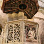 Decoración del púlpito de la Catedral de Tarazona en Aragón